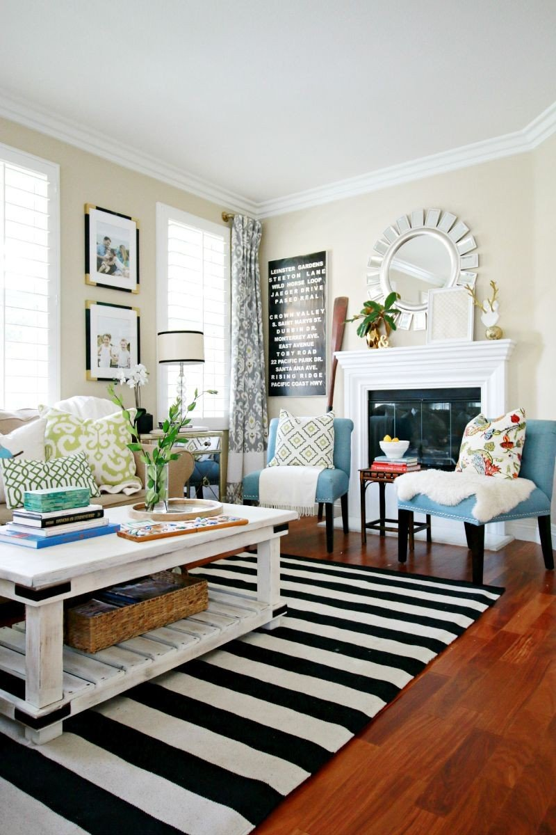 Living Room Sources & Design Tips - A Thoughtful Place on Comfortable Living  id=92345