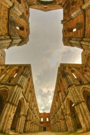 San Galgano Abbey - Tuscany, Italy