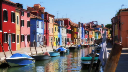 Burano Island - Venice, Italy