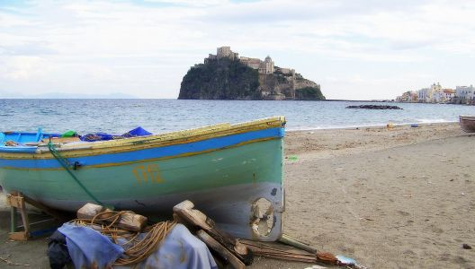 Italy - Aragonese Castle, Ischia