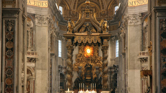Italy - St Peters Basilica, Rome