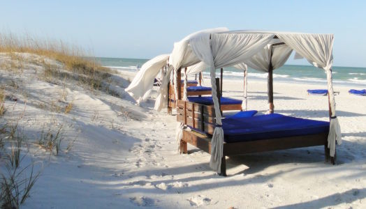 Massages on the Beach at The Don Cesar - St. Pete Beach, FL