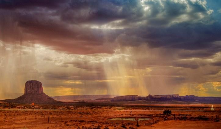 Monument Valley Rain