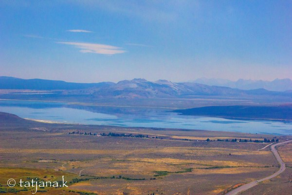 Mono Lake - nearly as expected