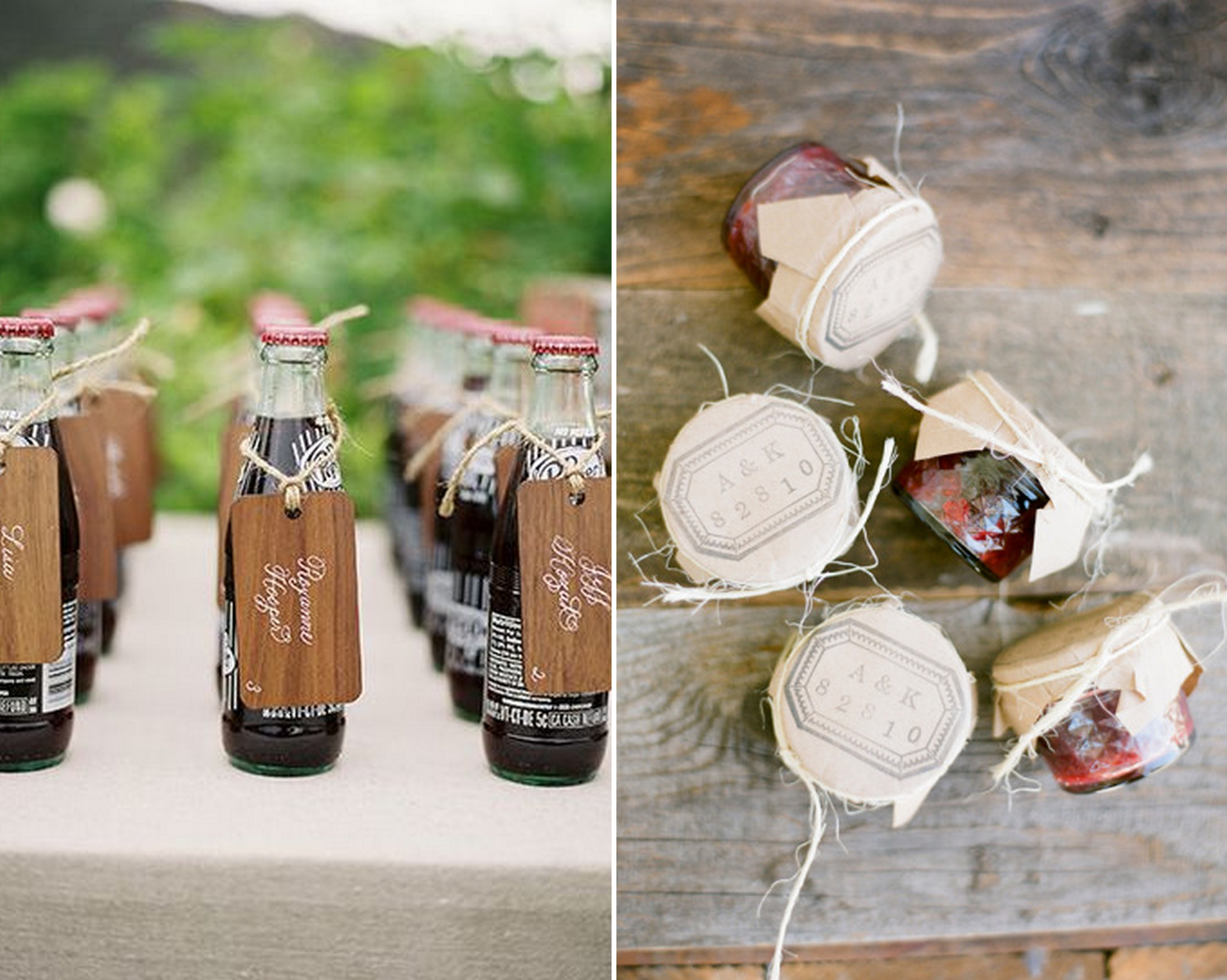 Edible Favors And Escort Cards