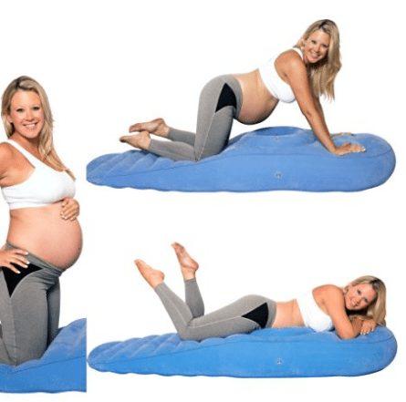 cozy bump maternity pillow lay on