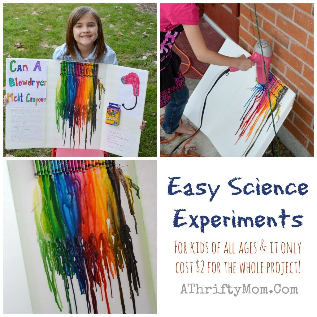 Fast And Easy Science Fair Experiments For Kids Of All Ages