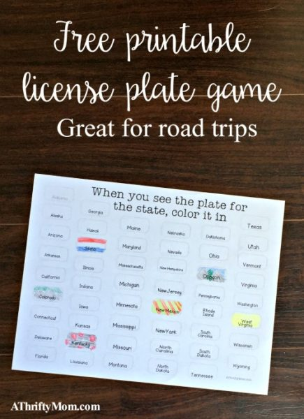 Summer Rules Printable FREE Printable A Thrifty Mom
