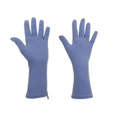 protext original protective gloves for chronic skin diseases, periwinkle colour