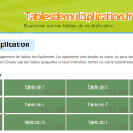 Tablesdemultiplication.fr