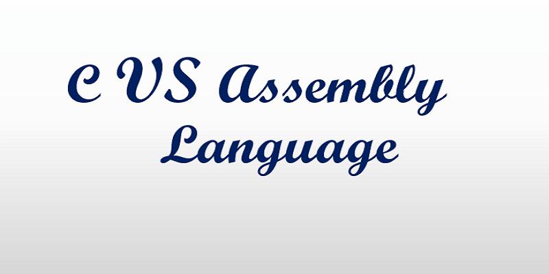 c vs assembly