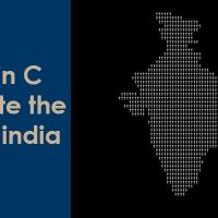 code in c to generate map of india