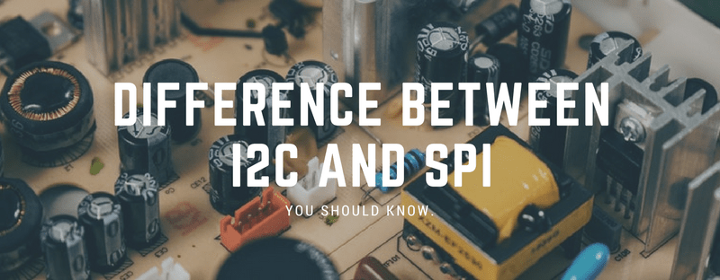 difference between I2C and SPI