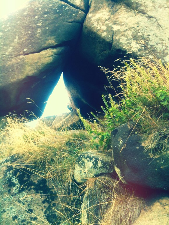Natural shelters in Rock formations