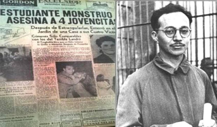 EL PRESIDENTE LUIS ECHEVERRIA LE PERDONÓ SUS CRÍMINES: EL ESTRANGULADOR DE  TACUBA - A Tiempo.Tv