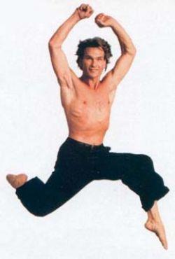 patrick swayze dancing