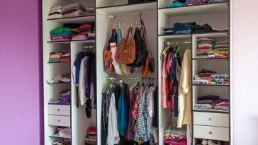 Get your closet looking great with home organization.