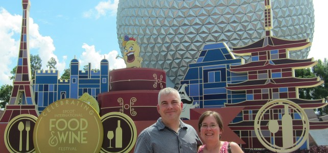 Reconnecting….at Epcot's International Food and Wine Festival