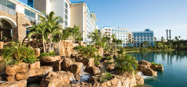 Welcome to the Caribbean at Loews Sapphire Falls Resort