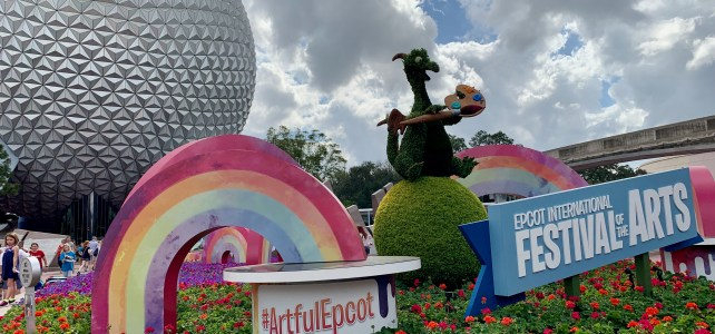 Epcot's International Festival of the Arts in 2020