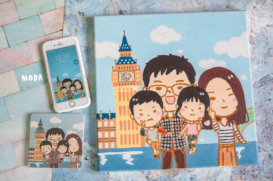 |分享|MODA數字油畫,適合親子同樂DIY油畫,一起在家畫畫超好打發時間的耶!