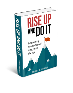 2D Rise up and Do Book