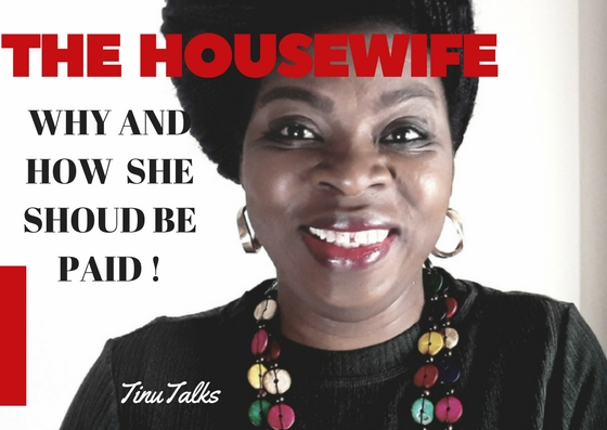 Housewife/Homemaker- Why and How She Should Be Paid.