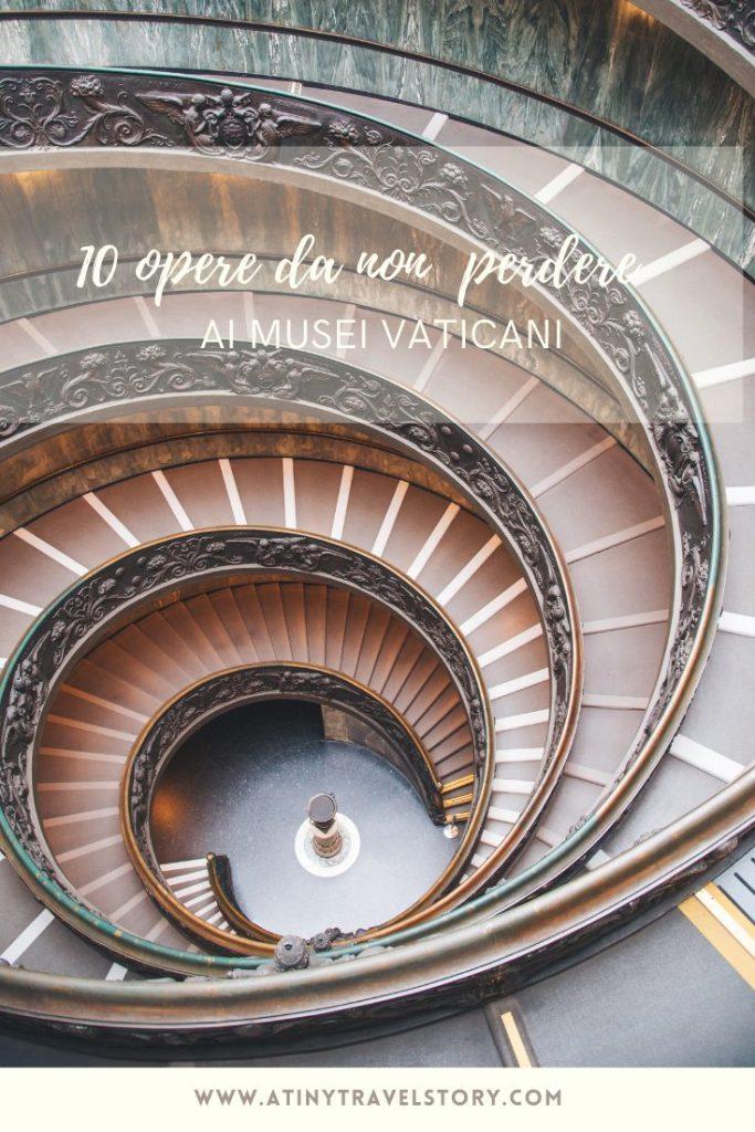 Cosa vedere ai Musei Vaticani Scala elicoidale