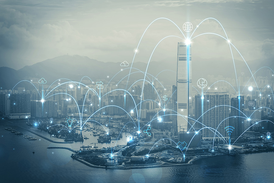 industrial internet of things azure iot city