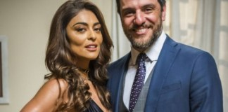 Bibi (Juliana Paes) e Caio (Rodrigo Lombardi) em A a 'Força do Querer' (Globo)