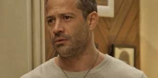 Malvino Salvador interpretando Apolo em Haja Coração (Globo)