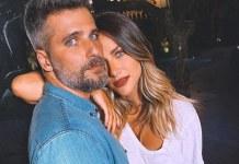 O casal Bruno Gagliasso e Giovanna Ewbank