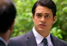 Raphael Vianna como Hélio em 'Flor do Caribe' (Globo)