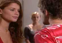 Alinne Moraes como Clara em 'Mulheres Apaixonadas' (Canal Viva)