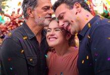 Cenas do filme 'Pai em Dobro' (Netflix)