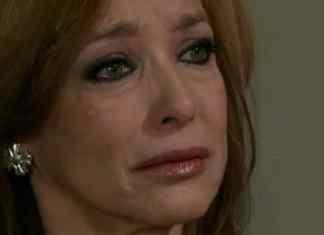 Silvia Manríquez interpretando Paula em 'Amores Verdadeiros' (Sbt)