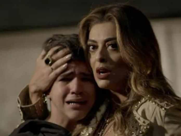 Bibi (Juliana Paes) e Yuri (Drico Alves) em 'A Força do Querer' (Globo)