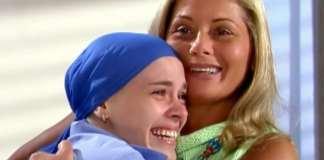 Camila (Carolina Dieckmann) e Helena (Vera Fischer) em 'Laços de Família' (Globo)