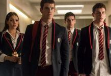 Cenas da série 'Elite' (Netflix)