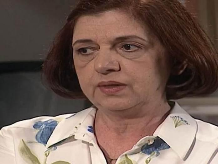 Walderez de Barros interpretando Ema em 'Laços de Família' (Globo)