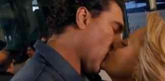 José Ângelo (Eduardo Yáñez) e Vitória (Erika Buenfil) em 'Amores Verdadeiros' (Sbt)