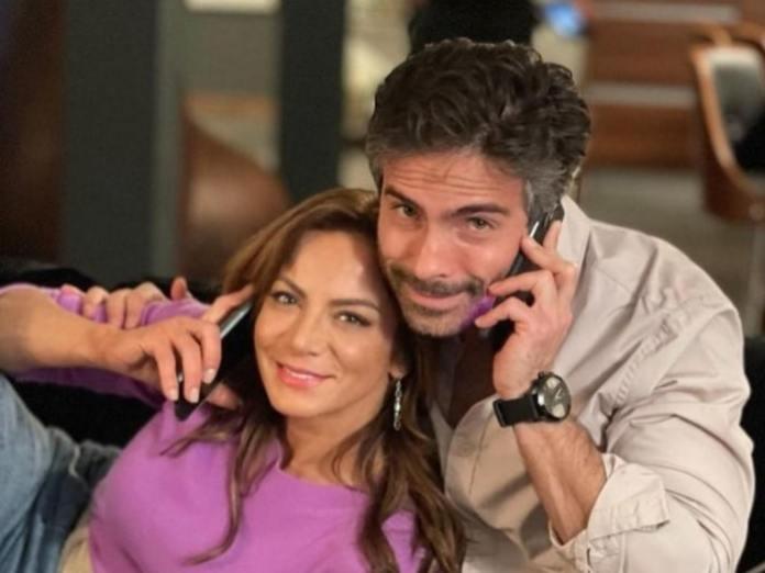 Silvia Navarro e Osvaldo Benavides
