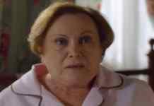 Nicette Bruno interpretando Iná em 'A Vida da Gente' (Globo)