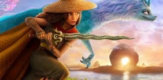 Cenas do filme 'Raya e o Último Dragão' (Disney)