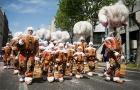 Traditii si obiceiuri belgiene. Carnavalul din Binche