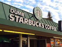 Starbucks-ul pentru prosti da lovitura in Los Angeles
