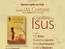 J.M. Coetzee își lansează cartea în România
