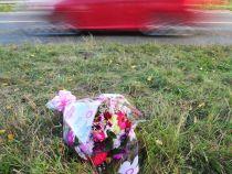 O femeie a fost lovita de o masina exact in locul in care a murit si sotul sau