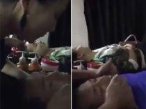 Cosmeticiana filmata cum scuipa pe fata unui client in timpul tratamentului facial