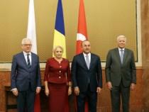 Întrevederea prim-ministrului României, Viorica Dăncilă, cu miniștrii afacerilor externe din Republica Polonă, Jacek Czaputowicz, Republica Turcia, Mevlüt Çavușoğlu și România, Teodor Meleșcanu